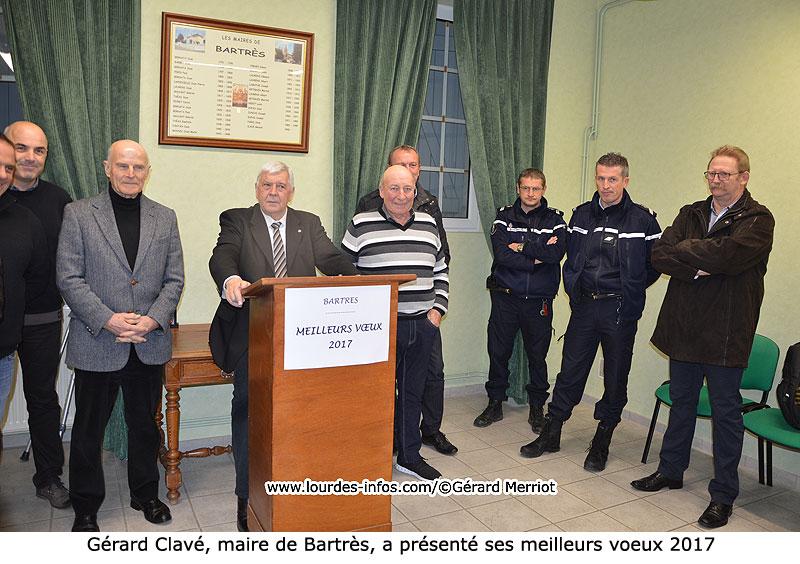 Les voeux de Gérard Clavé, maire de Bartrès - [ Site d ...