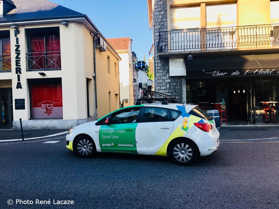 La Voiture De Google Street View Reperee Dans Lourdes Site D