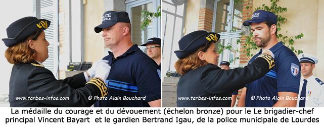 R compens s pour acte de courage et de d vouement site - Grille indiciaire brigadier chef principal de police municipale ...