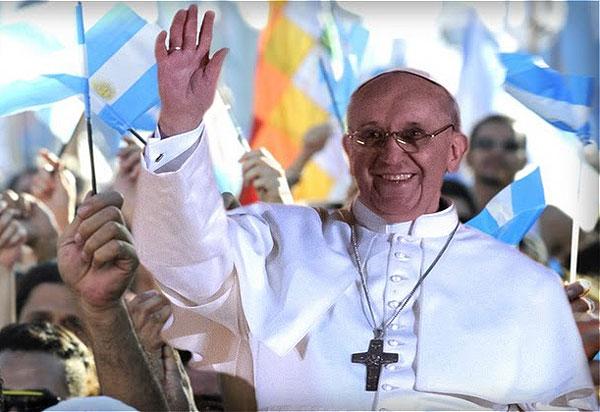 Retour Évangile de la joie/pape François/ Pape-3